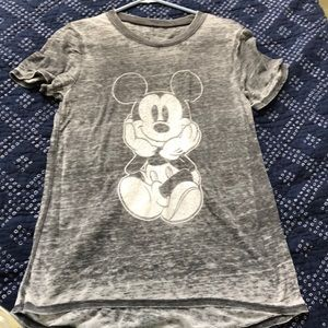 Burnout Mickey tee! Size S, NWOT